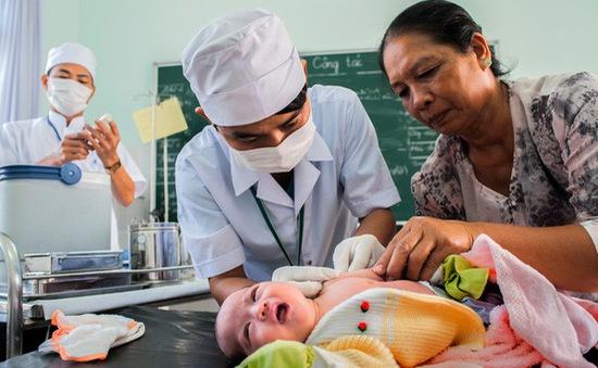 Vaccine bại liệt tiêm IPV được sử dụng trong tiêm chủng mở rộng 2018