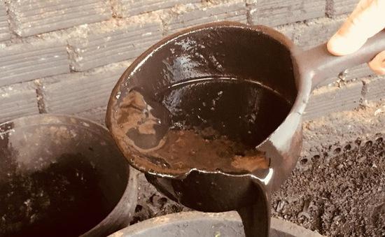 Chưa có cơ sở để xác định được đối tượng ngâm, tẩm phế phẩm cà phê