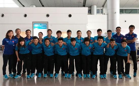 Đội tuyển Futsal nữ Việt Nam sang Trung Quốc tập huấn