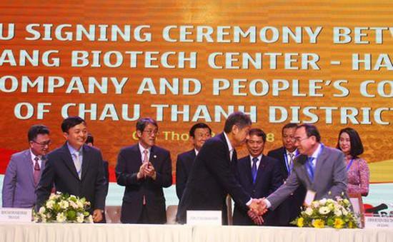 Ký kết nhiều thỏa thuận hợp tác đầu tư tại Hội nghị Gặp gỡ Nhật Bản - Khu vực ĐBSCL