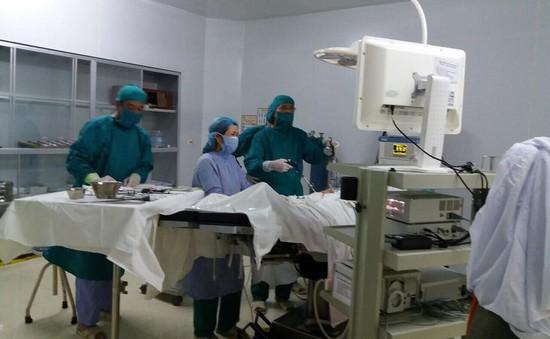 Bệnh nhân chửa ngoài dạ con vỡ máu ngập ổ bụng