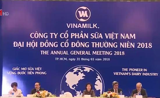 VNM: Cổ tức bằng tiền mặt tối thiểu bằng 50% lợi nhuận sau thuế