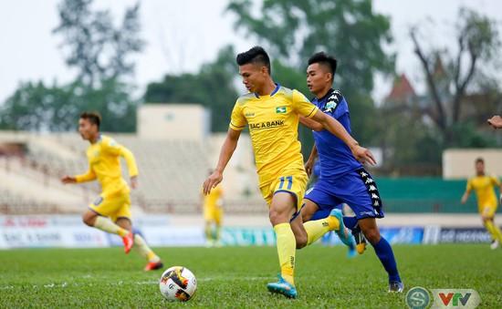 Sông Lam Nghệ An 0-0 B.Bình Dương: Chia điểm trên sân Vinh!