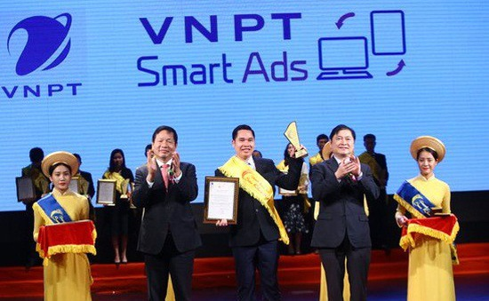 """VNPT lập """"hat-trick"""" giải thưởng tại Sao Khuê 2018"""