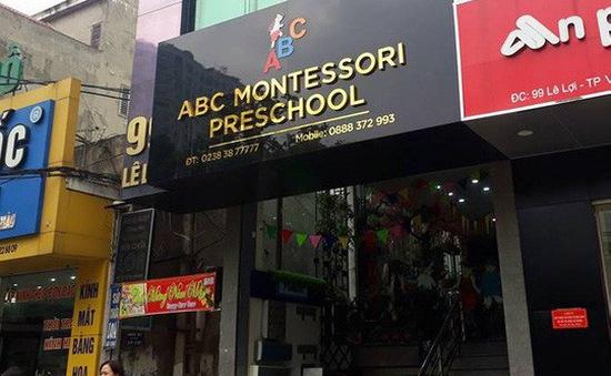 Đình chỉ cơ sở mầm non có giáo viên bạo hành trẻ ở Nghệ An