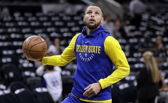 Stephen Curry trở lại tập luyện cùng Golden State Warriors