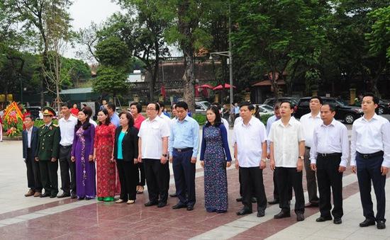 Hà Nội: Dâng hoa kỷ niệm 148 năm ngày sinh V.I.Lenin