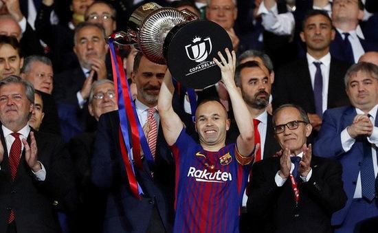Kết quả bóng đá sáng 22/4: Barcelona giành chức vô địch cúp Nhà vua, Man Utd lần thứ 20 lọt vào chung kết cúp FA