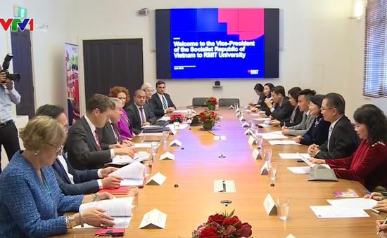 Phó Chủ tịch nước Đặng Thị Ngọc Thịnh thăm Đại học RMIT