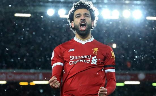 Mohamed Salah dẫn đầu cuộc đua Chiếc giày vàng Châu Âu