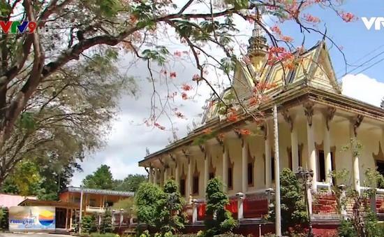 Nét đẹp chùa Khmer ở Trà Vinh
