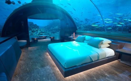 Khu resort dưới nước độc đáo nhất tại Maldives sẽ mở cửa trong năm nay