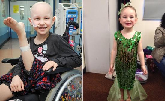 Anh: Ghép chân cho bé 7 tuổi bị ung thư xương