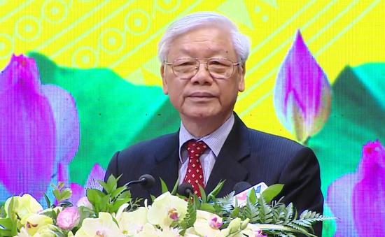Tổng Bí thư Nguyễn Phú Trọng dự Lễ kỷ niệm 60 năm ngành Xây dựng Việt Nam