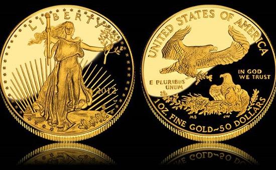 Doanh số bán đồng xu vàng của Mỹ ngày càng giảm