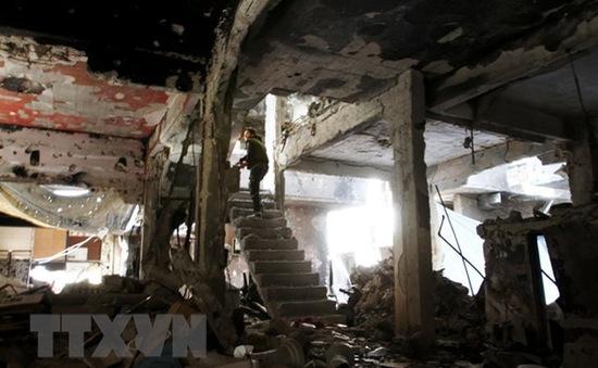 Syria: Quân chính phủ tiếp tục đẩy lùi IS ở phía Nam Damascus