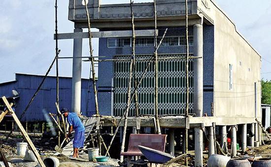 """Nhà """"cao cẳng"""" - Nếp ở mới thời nước biển dâng ở Cà Mau"""
