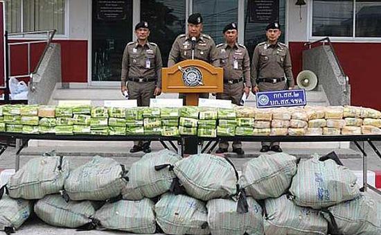 Thái Lan phá đường dây buôn ma túy quy mô lớn