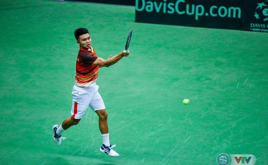 Davis Cup: Quần vợt Việt Nam tranh suất thăng hạng với Qatar