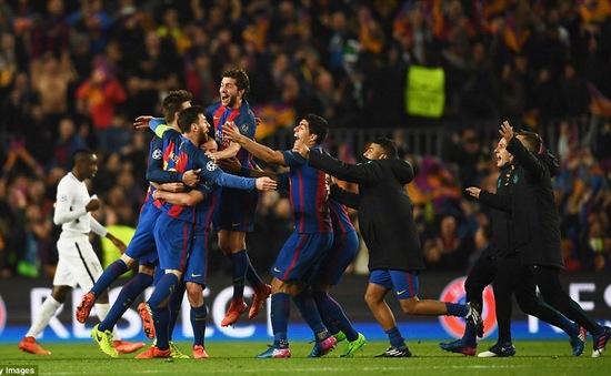 5 năm qua, Barcelona bất bại trên sân nhà ở Champions League