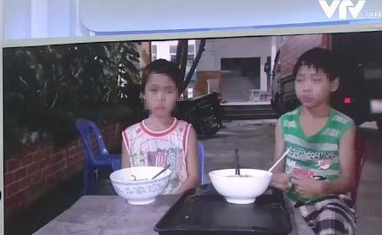Giải cứu 2 cháu bé bị ép đi xin ăn tại TP.HCM