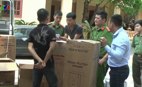 Nghệ An bắt vụ vận chuyển gần 500 loại hàng lậu