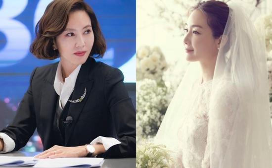 """Choi Ji Woo """"bắt"""" được hoa cưới của Kim Nam Joo từ 13 năm trước"""