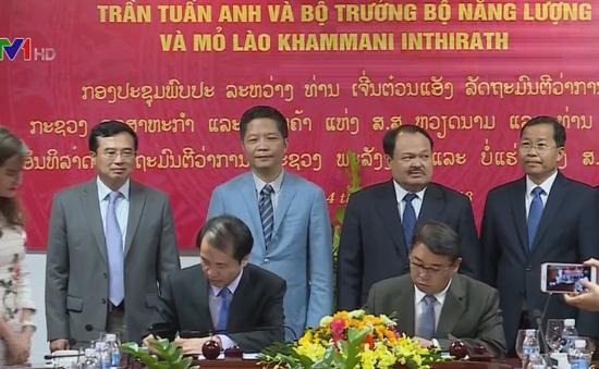 Hội đàm Liên bộ Việt Nam - Lào trong lĩnh vực khoáng sản, năng lượng