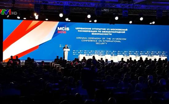 Khai mạc hội nghị an ninh quốc tế Moscow lần thứ 7
