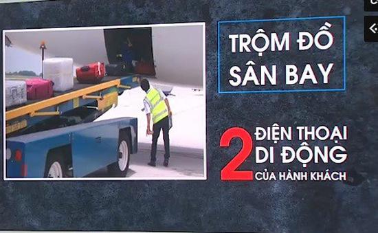 Bắt nhân viên sân bay trộm đồ của hành khách