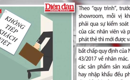 Bí ẩn bên trong những showroom chỉ dành cho khách Trung Quốc tại Nha Trang