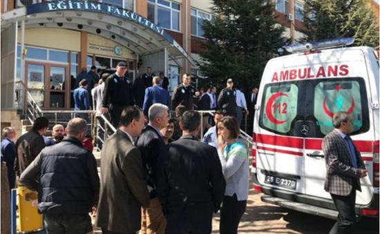 Thổ Nhĩ Kỳ: Xả súng tại Đại học Osmangazi, 4 người thiệt mạng