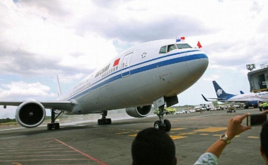 Trung Quốc khai trương đường bay thẳng đầu tiên tới Panama