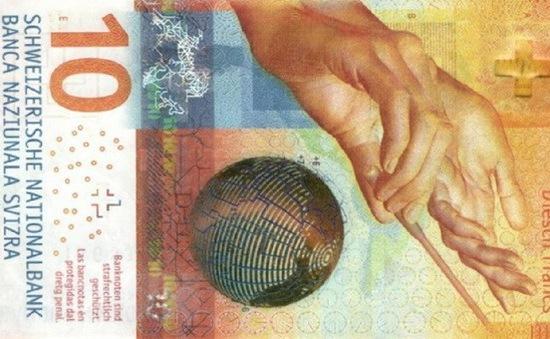 Tiền giấy Thụy Sỹ được bình chọn đẹp nhất thế giới