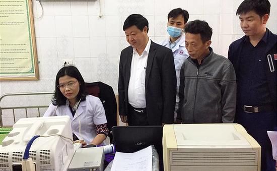Hà Tĩnh: Gần 4.000 người dân được khám, lập hồ sơ quản lý sức khỏe cá nhân