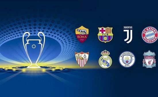 Bán kết lượt về Champions League: Xem ở đâu?