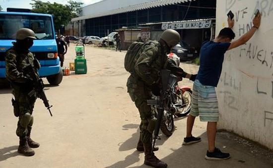 Brazil trấn áp tội phạm quy mô lớn, ít nhất 4 đối tượng bị bắn chết