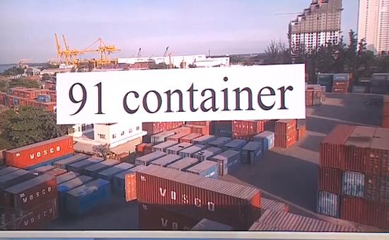 TP.HCM: Tìm chủ hàng nhiều container chân gà, lòng bò quá hạn thủ tục