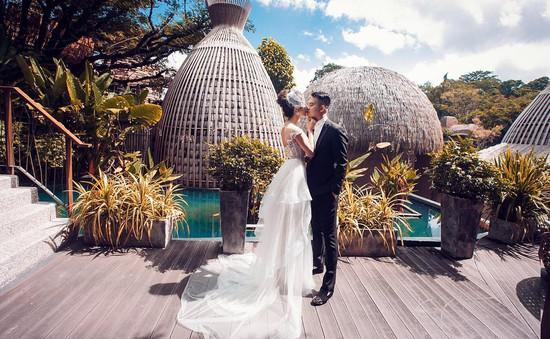 Ngắm bộ ảnh cưới đẹp lung linh của Diệp Lâm Anh