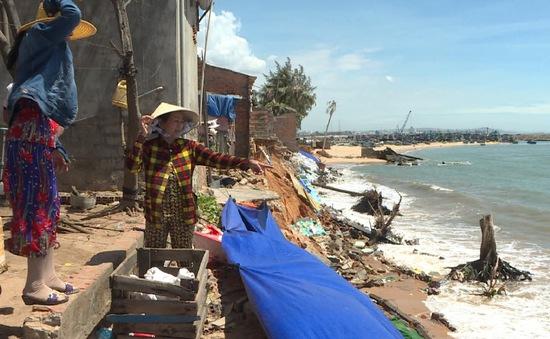 Bình Thuận: Chấn chỉnh tình trạng xây kè ngăn xâm thực không theo thiết kế