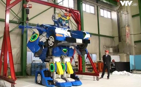 Robot Transformer xuất hiện ngoài đời thực