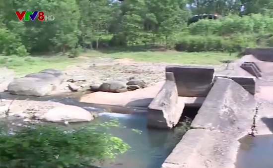 Hệ thống thủy lợi xuống cấp gây khó khăn cho mùa khô hạn