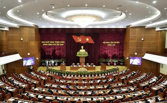 Thông cáo báo chí ngày làm việc thứ sáu Hội nghị Trung ương 7