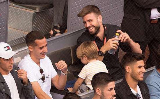 """""""Siêu kinh điển"""" tại giải quần vợt Madrid mở rộng"""