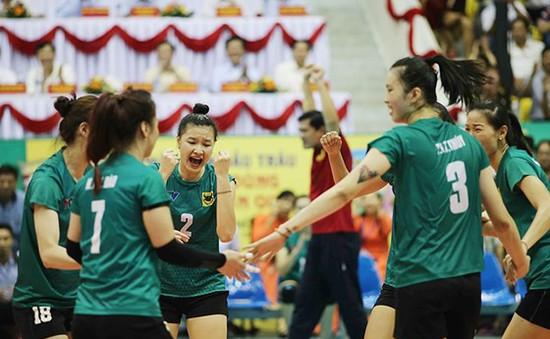 Giải bóng chuyền Cúp VTV9 Bình Điền 2018: VTV Bình Điền Long An đánh bại đại diện Thái Lan sau 4 set