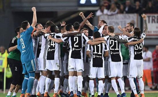 Juventus giành chức vô địch Serie A lần thứ 7 liên tiếp