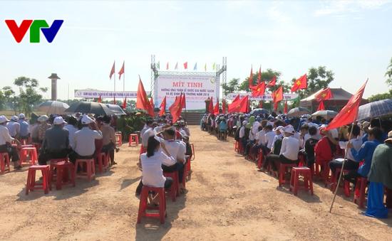 Quảng Trị ra quân hưởng ứng Tuần lễ Quốc gia nước sạch và vệ sinh môi trường