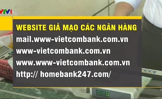 Thêm nhiều website giả mạo các ngân hàng