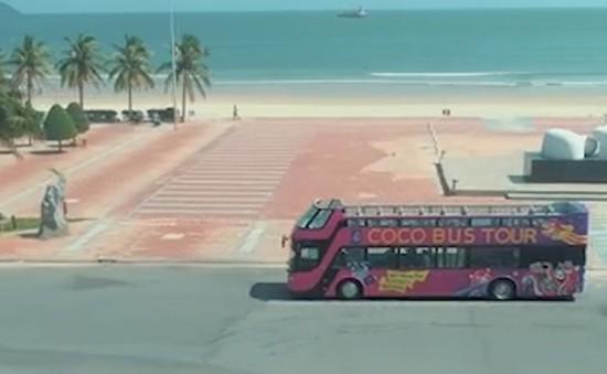 Khám phá Đà Nẵng trên xe buýt hai tầng