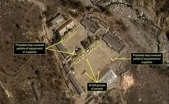 Triều Tiên tháo dỡ bãi thử hạt nhân sớm hơn dự định